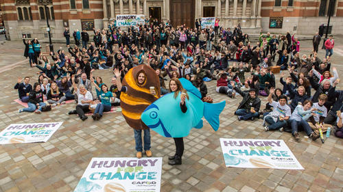 The Hungry for Change picnic in London