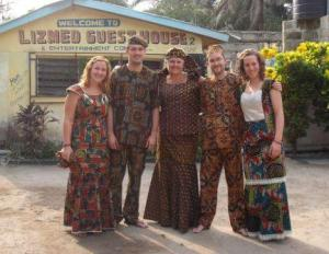 denise cropped african outfits