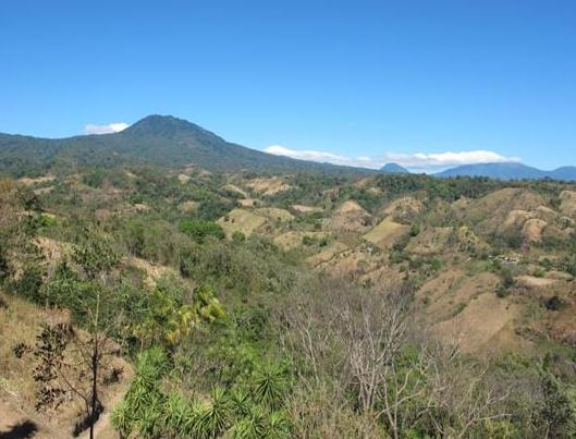 The surrounding scenery of Puentecitos