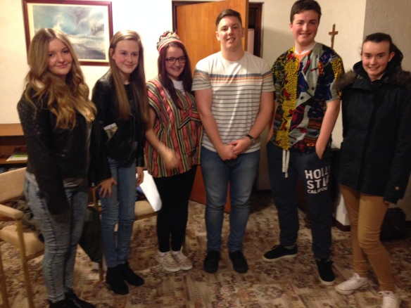Neal shared his story with young people from at St John Vianney's Parish in Blackpool