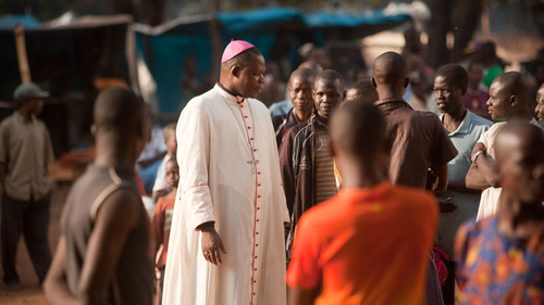 Archbishop Dieudonne Nzapalainga, one of the founders of the Interreligious Peace Platform.