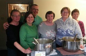 Our Lady of Furness CAFOD Soup Lunch team