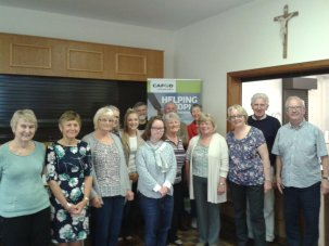 Our Lady & St Edward's CAFOD parish group at the Harvest Soup Lunch