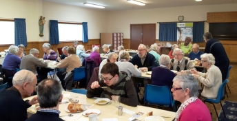 Our Lady & St Edward's parishioners at CAFOD Lent Soup Lunch