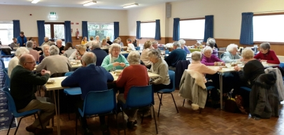 Parishioners from Our Lady and St Edwards took part in a special lunch in aid of CAFOD's Lent appeal