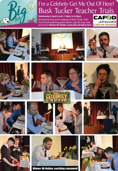 I'm a Celebrity Get Me Out Of Here - Bush Tucker Teacher Trials
