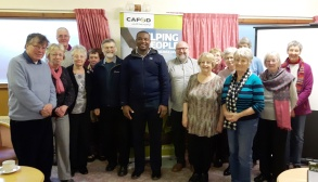 Livison with CAFOD volunteers and supporters from Preston at Our Lady & St Edwards